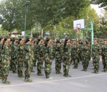 大一新生开学军训祝福语