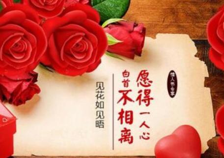 2019情人节给老婆甜蜜祝福语